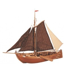 1:35 Ботер (Botter) - холандски риболовен кораб - Модел на кораб от дърво