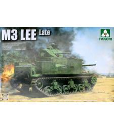 1:35 Американски среден танк М3 Lee, късно производство (US Medium Tank M3 Lee Late)