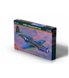 """1:72 Американски изтребител P-51 B-1""""BullFrog I"""""""