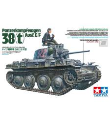 1:35 Германски лек танк 38(t) Ausf.E/F
