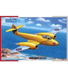 "1:72 Британски реактивен изтребител Gloster Meteor Mk.4 ""World Speed Record"""
