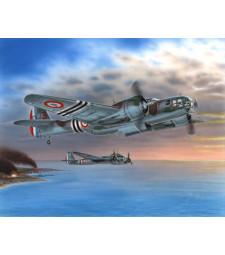 "1:48 Самолет 167F ""Glenn over french 1940/45"""