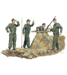 1:35 Германски танков екипаж, Франция 1944 (PANZER CREW ACHTUNG JABO, FRANCE 1944)