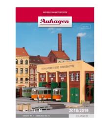Каталог Auhagen № 15 (2018/2019) с брошура за нови продукти H0 2019