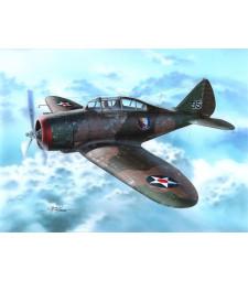 "1:72 Американски самолет P-35 ""War games and War Training"""