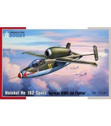 1:72 Германски самолет Heinkel He 162 Spatz
