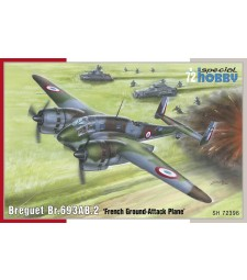 1:72 Френски бомбардировач Breguet Br.693AB.2  'French Attack-Bomber'