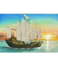 1:250 Китайски изледователски кораб с платна - Адмирал Джън Хъ  (60 cm)