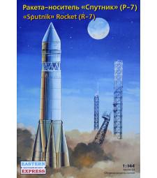 """1:144 Руски ракето носител """"Спутник"""" Р-7 (""""Sputnik"""" R-7)"""