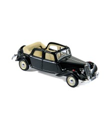 Citroen 15CV 6 Decouvrable EDM (1949)  Black