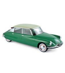 Citroen DS 19 1956 - Vert Printemps & Champagne