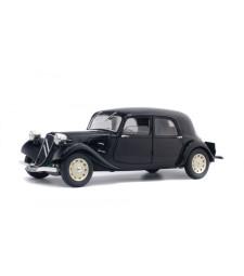 CITROEN TRACTION 11CV - NOIRE + JANTES BLANCHES - 1937