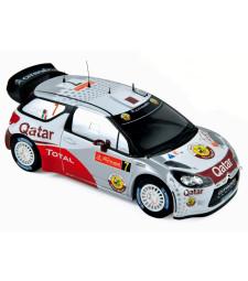 CITROEN DS3 WRC Rallye du Portugal 2012 Al-Attiyah / Bernacchini