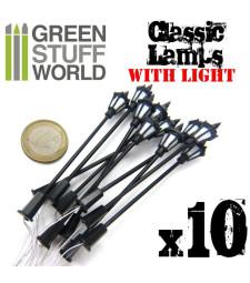 Plastic Classic Lamps 8,50cm - PACKx10