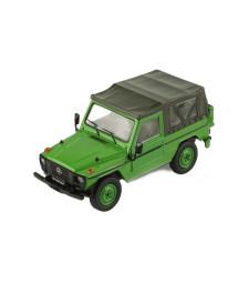 Mercedes 240 G SWB Softtop, green, 1986