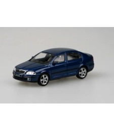 Skoda Octavia II (2004) - Deep Blue Metallic