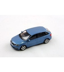 Skoda Rapid Spaceback (2013) - Denim Blue