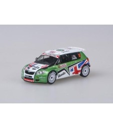 Skoda Fabia II S2000 (2009) - Rallye Monte-Carlo 2010 #10 Wilks - Pugh