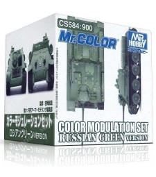 CS-584 Color Modulation Set Russian Green (4 x 10 ml)