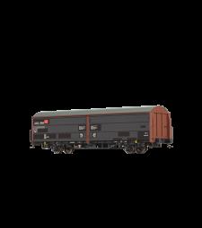 H0 Товарен вагон Hbills299 DB, епоха V
