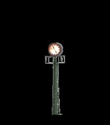 H0 Часовник на стълб