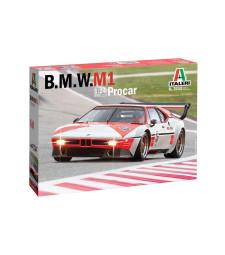 1:24 Състезателен автомобил БМВ М1 (BMW M1 Procar)