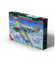 """1:72 Британски разузнавателен самолет Fairey """"Fulmar"""" Mk.I/II"""