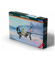 """1:72 Съветски изтребител Yak-23 """"FLORA"""" (с български декали)"""