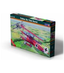 """1:48 Фокер ДР. I Червения барон (Fokker Dr.I """"Red Baron"""")"""