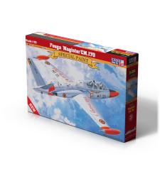 """1:72 Френски тренировъчен самолет Fouga """"Magister"""" CM.170"""