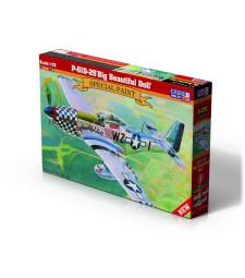 """1:72 Американски изтребител P-51D-25 """"Big Beautiful Doll"""""""