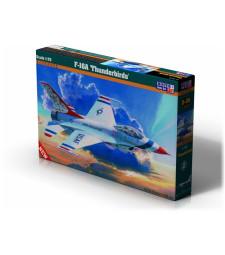 """1:72 Американски изтребител F-16A """"Thunderbirds"""""""