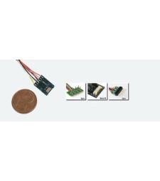LokPilot micro V4.0, DCC, 6-pin NEM 651 direct connection