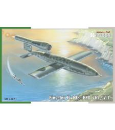 1:32 Германски военен транспортен и разузнавателен самолет Fieseler Fi 103 / V-1