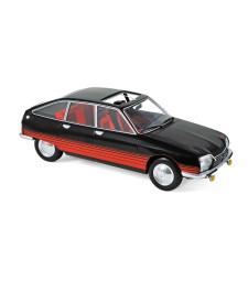 "Citroen GS ""Basalte"" 1978 - Black & Red deco"