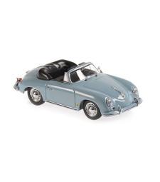 PORSCHE 356 A CABRIOLET - 1956 - BLUE - MAXICHAMPS