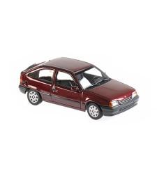 OPEL KADETT E - 1990 - RED METALLIC - MAXICHAMPS