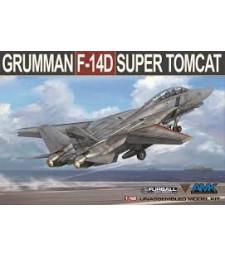 """1:48 Американски изтребител Груман Ф-14Д """"Super Tomcat """" (Grumman F-14D Super Tomcat (New Release))"""
