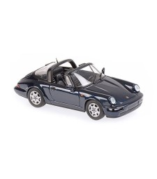 PORSCHE 911 TARGA (964) - 1991 - GREEN METALLIC - MAXICHAMPS