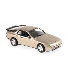 PORSCHE 944 S - 1989 - BEIGE METALLIC - MAXICHAMPS