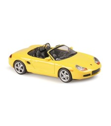 PORSCHE BOXSTER - 1999 - YELLOW - MAXICHAMPS