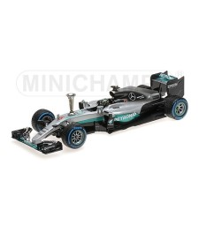 MERCEDES AMG PETRONAS F1 W07 HYBRID - ROSBERG - SINDELFINGEN DEMONTRATION RUN WORLD CHAMPION 2016