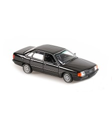 AUDI 100 - 1990 - GREY METALLIC - MAXICHAMPS