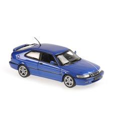 SAAB 9-3 VIGGEN - 1999 - BLUE METALLIC - MAXICHAMPS