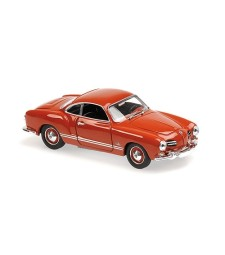VOLKSWAGEN KARMANN GHIA COUPE - 1955 - RED - MAXICHAMPS