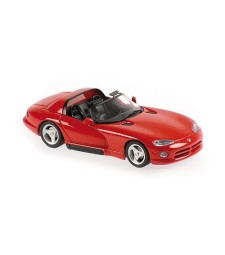 DODGE VIPER ROADSTER - 1993 - RED - MAXICHAMPS