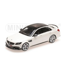 BRABUS 600 AUF BASIS MERCEDES AMG C 63 S – 2015 – WHITE