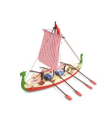 Дракон (Драккар) - Викингска лодка (Drakkar - Viking Boat) - Детска колекция
