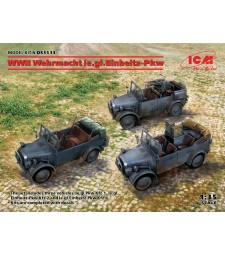 1:35 Автомобили на Вермахта, Втората световна война le.gl.Einheitz-Pkw (le.gl.Pkw Kfz.1, le.gl.Einheitz-Pkw Kfz.2, le.gl.Einheitz-Pkw Kfz.4)