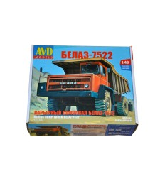 Belaz-7522 Dump Truck - Die-cast Model Kit